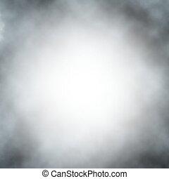 vettore, nebbia, fondo