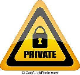 vettore, segnale privato