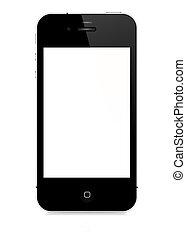 vettore, smartphone, -, 4s