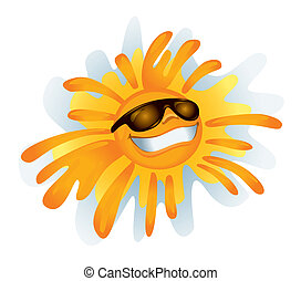 vettore, soleggiato, :)