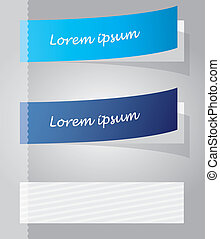 vettore, stickers., variopinto