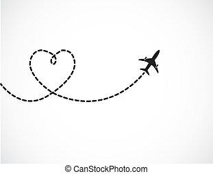 viaggiare, amore, concetto