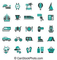 viaggiare, signs., ricreazione