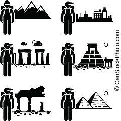 viaggiatore, esploratore, avventura