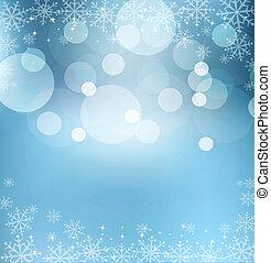vigilia, astratto, sfondo blu, natale, nuovo anno