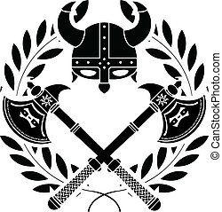viking, glory., stencil., varian, primo