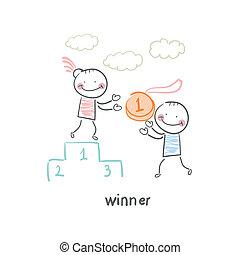 vincitore