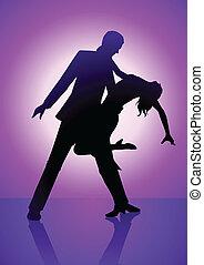 viola, ballo