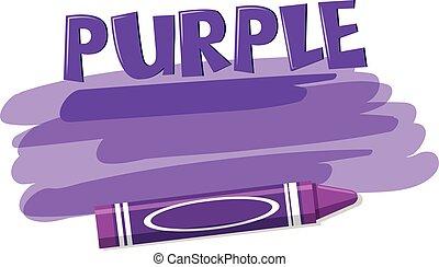 viola, bianco, pastello, fondo
