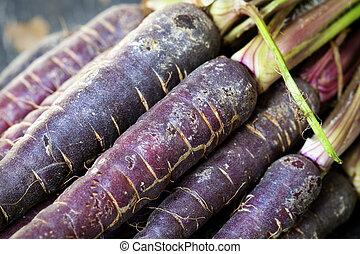 viola, carote
