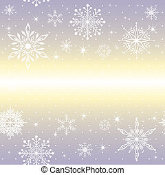 viola, natale, fondo, fiocco di neve