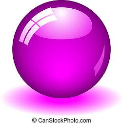 viola, palla