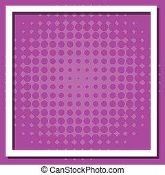 viola, punti, fondo, cornice, disegno, sagoma