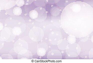 viola, sagoma, bolle, fondo