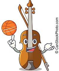 violino, forma, pallacanestro, carattere