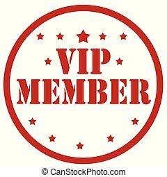 vip, member-stamp