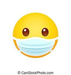 visiera protettiva, emoji
