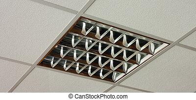 vista primo piano, lampada soffitto