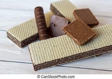 vita, ancora, cialde, caramella, cioccolato