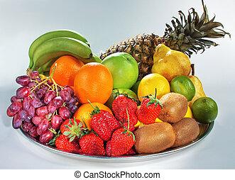 vita, ancora, frutta