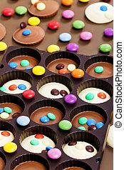 vita, ancora, smarties, cioccolato