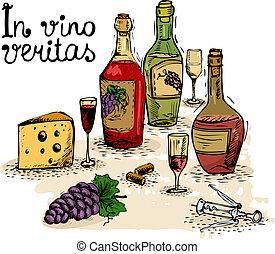 vita, ancora, vino