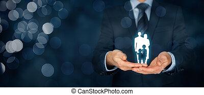 vita, famiglia, polizza assicurazione