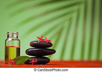 vita, &, terme salute, ancora, massaggio