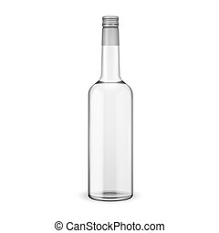 vite, vodka, cap., bottiglia, vetro