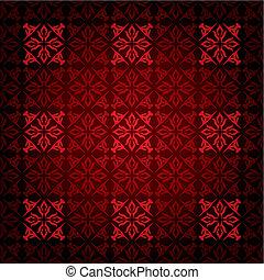 vittoriano, quadrato, rosso