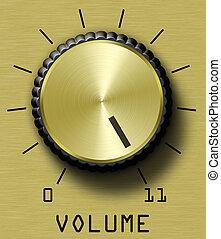 volume, oro, controllo