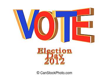 voto, testo, 2012