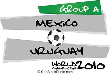 vs, messico, uruguay