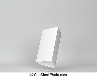 vuoto, scheda, mockup, triangolo