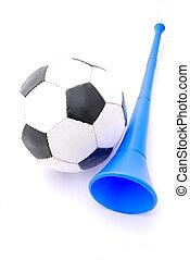 vuvuzela, football, corno