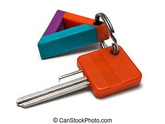 w/, etichetta, chiave, colorito