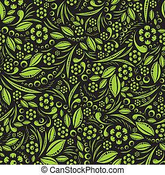 wallpaper., vettore, verde, seamless, ve