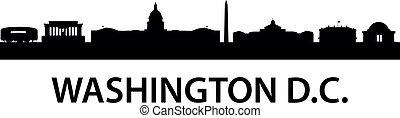 washington, orizzonte, d.c.