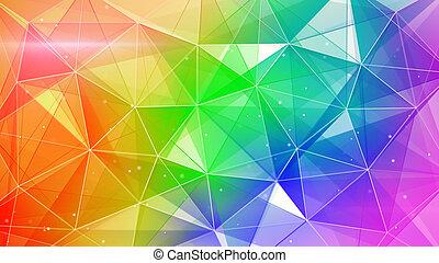 web, astratto, colorito, fondo