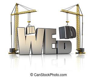 web, costruzione