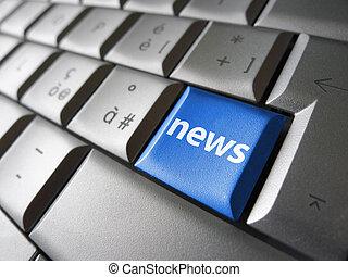 web, notizie linea