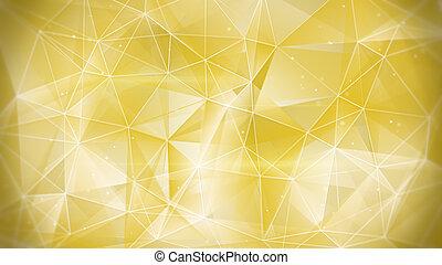 web, oro, fondo, astratto
