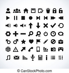web, set, icona