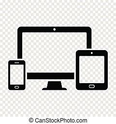 web, tavoletta, -, schermo, computer, disegno, telefono, sensibile, far male, icona