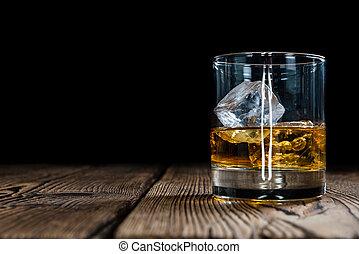whisky, singolo, malto