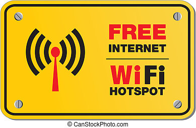 wifi, internet, libero, hotspot, segni