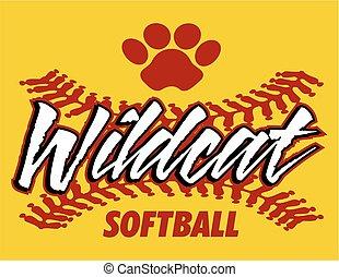 wildcat, softball