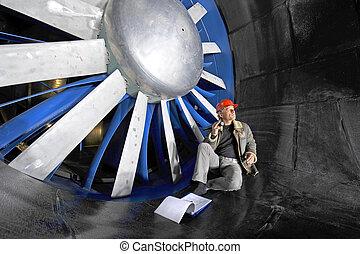 windtunnel, ingegnere