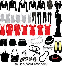 womens, abbigliamento, miscellaneo