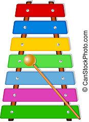xilofono, colorito